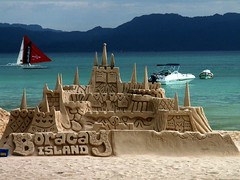 Castles of Boracay Island (Storm Crypt) Tags: sea summer beach sand philippines resort boracay sandcastle coolest caticlan beachresort aklan boracayisland supershot touristdestination thatsclassy