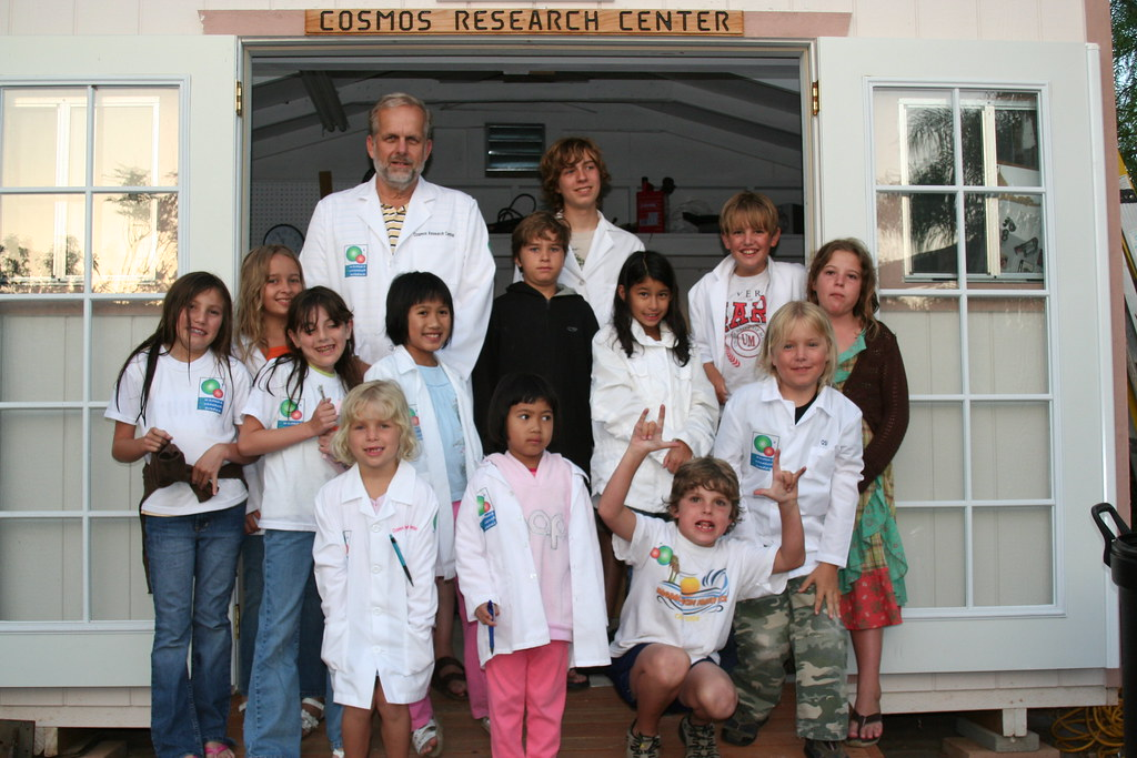 Cosmos Research Center Lab Coats