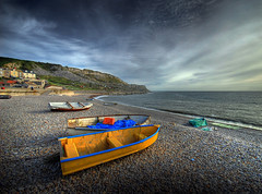 Evening light (petervanallen) Tags: seascape portland landscape nikon dorset hdr supershot d80 abigfave superaplus aplusphoto goldenphotographer