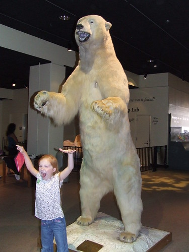 Maddy and Polar Bear