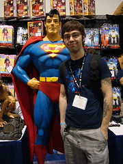 I met Superman.
