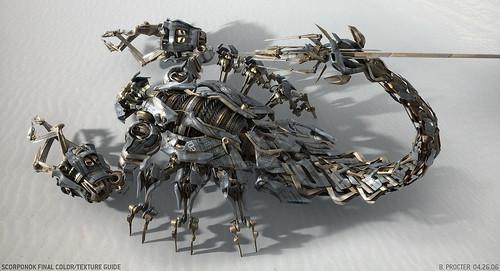Scorponok en  Transformers la pelicula