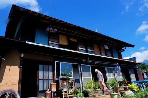 空穂宿 韮崎市穂坂にあるゲストハウス