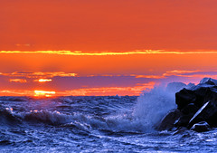 stunning sunset (Henri Bonell) Tags: sunset sea sky sun seascape beach nature water evening waves balticsea stunning seashore naturesfinest bayofbothnia gulfofbothnia outstandingshots bothnianbay permeri bottenviken colorphotoaward superaplus aplusphoto henribonell ultimateshot irresistiblebeauty superbmasterpiece diamondclassphotographer superhearts theunforgetablepictures brilliant~eye~jewel theperfectphotographer theroadtoheaven