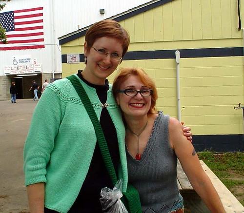 Meg and Bonne Marie
