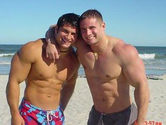 Two muscleguys