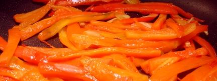 Peperoni & Co anbraten