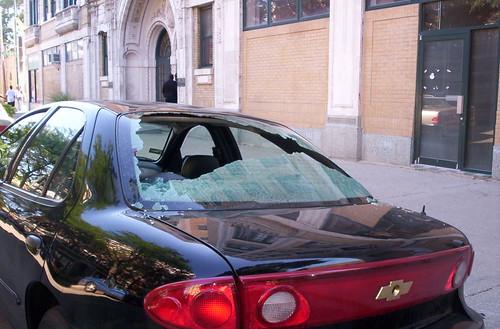 Vehicular Property Damage