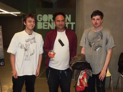 Homemade t-shirts rock..