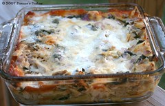 Chicken and Spinach Lasagna