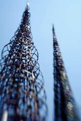 Watts Towers skyline