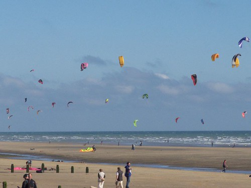 Peplers In Rye Kite Surfing At Camber Sands