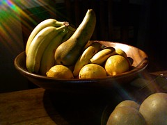 still life with a pear (mmechinita) Tags: stilllife penis funny pears lemons bananas pear erection dildo obscene woodentable fruitarrangement