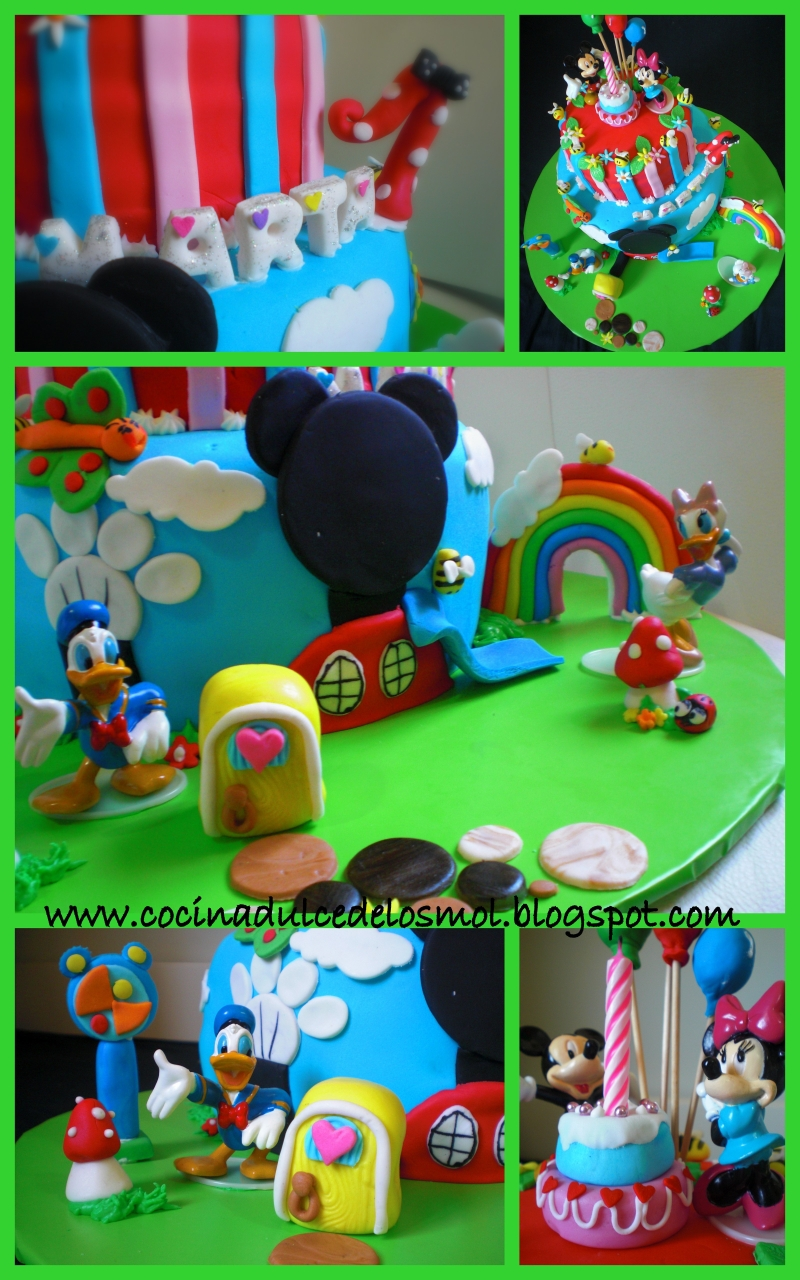 2 Tarta playhouse disney