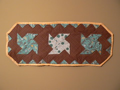 Emily's Table Runner for Project Quilting Rectangle Challenge