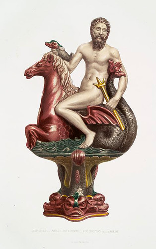 014-Neptuno-Museo del Louvre-Monographie de l'oeuvre de Bernard Palissy…1862