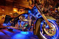 Darth Harley (atmtx) Tags: black rot austin texas bikes harleydavidson hdr 6thstreet flatblack rotrally republicoftexas republicoftexasrally