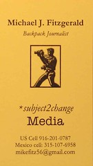 New subject2change media card