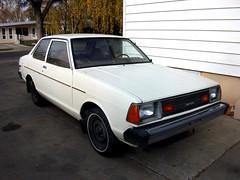 1981 Datsun 210 (dave_7) Tags: car mine 1981 datsun 210
