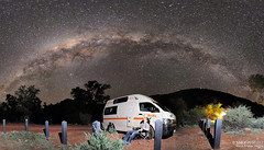 Camping below the Milky Way (Habub3) Tags: park travel camping light summer vacation sky people panorama mountain holiday black tree nature night landscape star photo nationalpark search nikon nightshot nacht map urlaub natur himmel australia galaxy np australien pascal camper stern magical motorhome campsite vacanze wohnmobil campingplatz reise 2010 nachtaufnahme simpsonsgap alicesprings milkyway britz astronomie sternenhimmel nachthimmel campingground serach mywinners abigfave d700 milchstrase spacelapse habub3 spangledsky