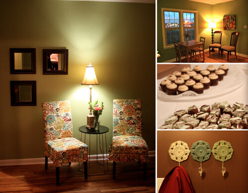 The Chocolate Dessert Cafe in West Jordan, Utah (Collage by Utah Loves Cupcakes)