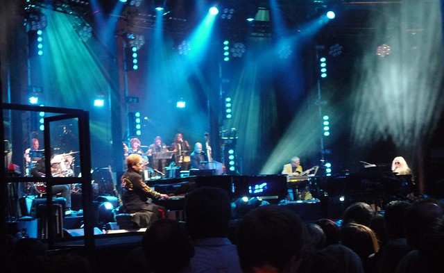 Elton John and Leon Russell, The Roundhouse