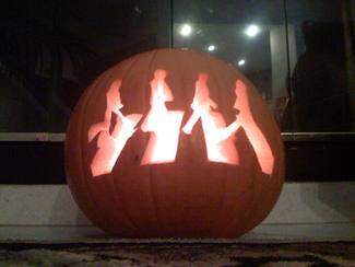 Beatles Abbey Road Pumpking