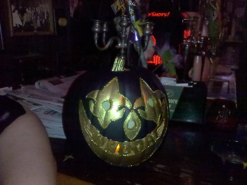 Who Dat Pumpkin at White's