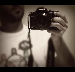 Canon & i        ( Explored ) (Moe_QTR >[ Soon ]<) Tags: portrait selfportrait self canon eos rebel xsi
