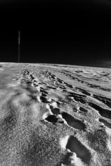 Almost lunar.... (Mark-Farrell) Tags: winter england snow west belmont hill north rivington bolton moors british mast pennine the