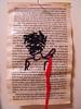 pg 3 (Jenn Aubrey) Tags: embroidery string stitching transition metamorphosis yearofthetiger yearoftheox handstitch bookpages