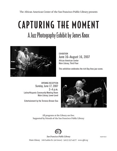 Capturing The Moment Photography Exhibit Flyer
