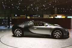 bugatti veyron au salon de geneve (anatoliv73) Tags: car switzerland automobile suisse geneva geneve alsace salon bugatti veyron palexpo molsheim