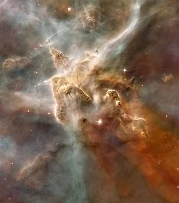 Star forming region in Carina