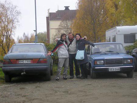 Tener coche en Finlandia es tenerlo viejo