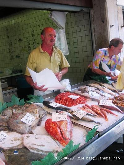 威尼斯的魚市場