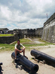 St. Augustine, Florida (sparta_snooch) Tags: travel holidays cannons