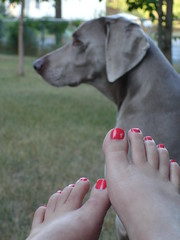 Casey + Toes