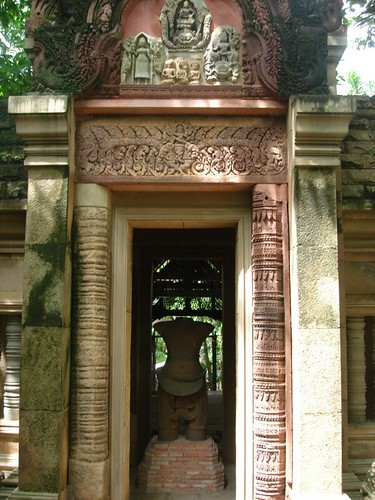 Khmer shrine at Prasart Museum Bangkok