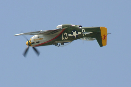 P-51 Mustang! Caddilac of the sky!