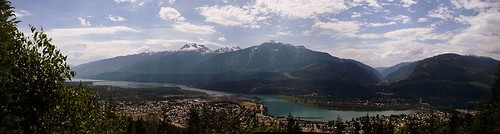 Revelstoke from Mount Revelstoke, 1400 KM*