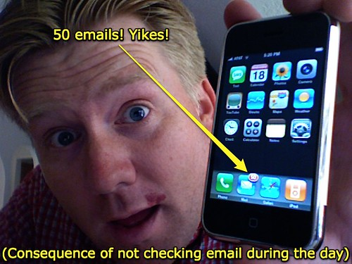 50 iPhone emails! Yikes!