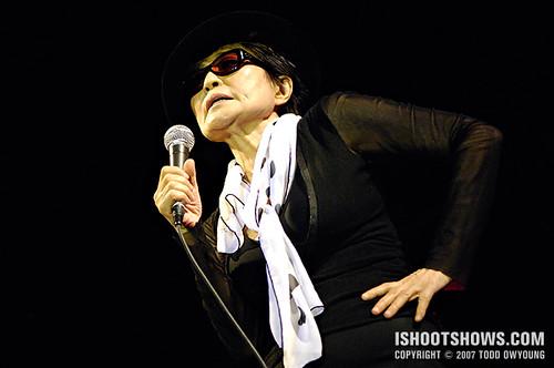 Yoko Ono @ Pitchfork 2007