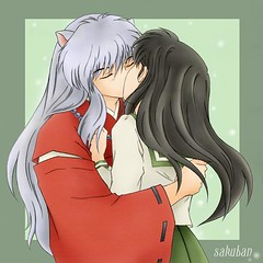 Inuyasha kiss kagome (Cherry.Vanilla2008) Tags: dog souls word four japanese is spirit young manga monk fairy fox demon slayer takahashi period tale inuyasha sengoku meaning jewel yasha rumiko lecherous inu feudal otogi nekomata a naraku zshi halfdemon buddhismrelated