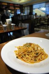 メカジキのスパゲッティ トマト・バジリコソース, Donsabatini, 羽田空港