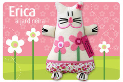 Erica, a jardineira (Fafi) Tags: cat toys gatos softies erica maricota