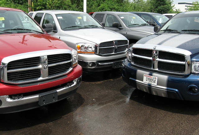 truck pickup grill dodge ram dealer