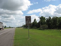 Chisholm Trail Road Sign
