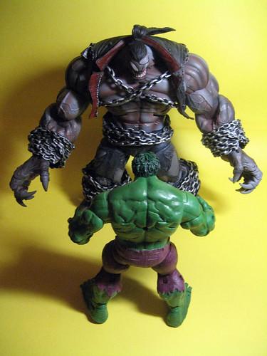 Pitt and Hulk