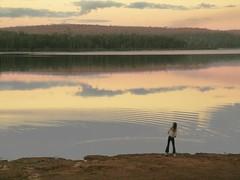 stones (dalinean) Tags: life sunset water reflections kid child stones australia wa ripples throwing westaustralia
